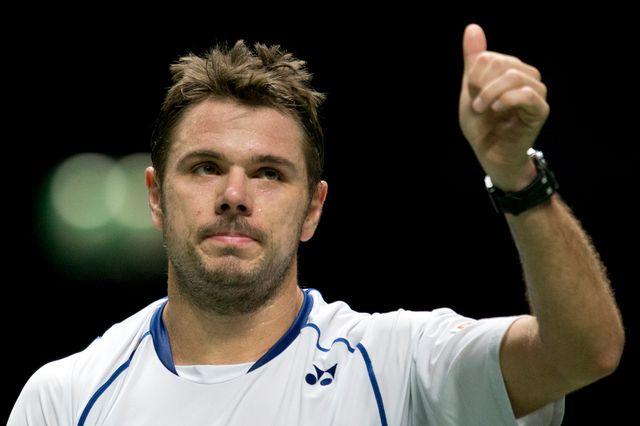 Wawrinka retrouvera Berdych dimanche en finale du tournoi de Rotterdam. [Peter Dejong - Keystone]