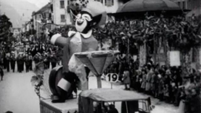 La ville de Martigny vit au rythme du carnaval.