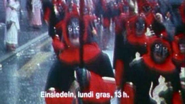 Tour de Suisse des principaux carnavals et de leurs rites.