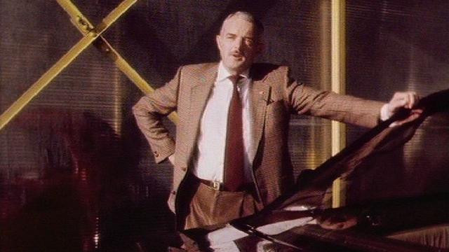 L'homme aux 35 voitures de l'émission Viva, 1989. [RTS]
