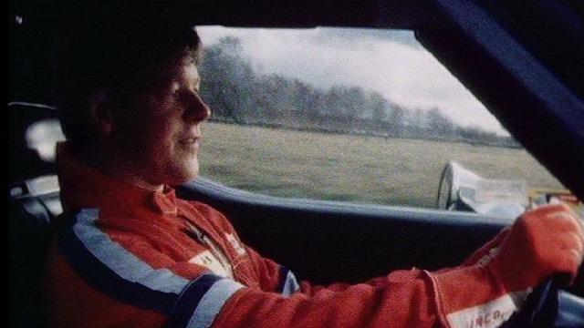 Il l'aime la vitesse et le dit dans Viva en 1989. [RTS]