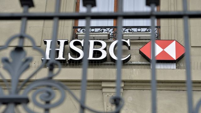Perquisition chez HSBC. [Martial Trezzini - EPA/Keystone]