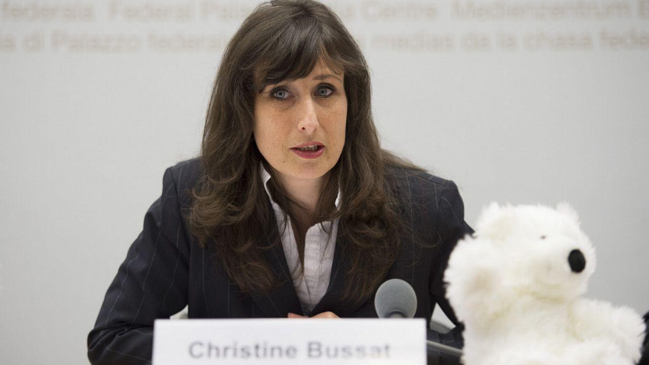 Christine Bussat est l'une des 18 candidats proposés par le PBD Vaud. [Gian Ehrenzeller - Keystone]