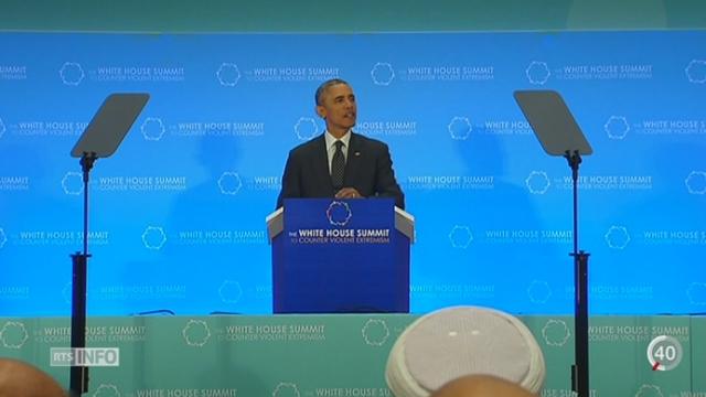 USA: une soixantaine de pays sont réunis pour un sommet contre l'extrémisme violent [RTS]