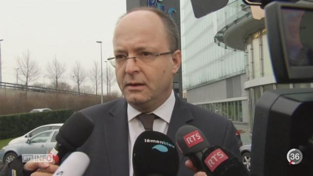 HSBC - Evasion fiscale: Olivier Jornod critique durement le système de contrôle [RTS]