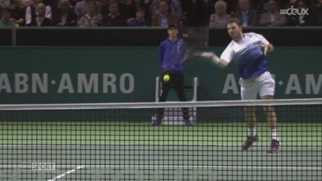 Tennis - ATP de Rotterdam: Wawrinka - Raonic (7-6 (7-3) 7-6 (9-7)) [RTS]