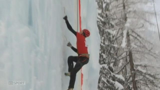 Le Mag: l'escalade sur glace est un sport en développement [RTS]