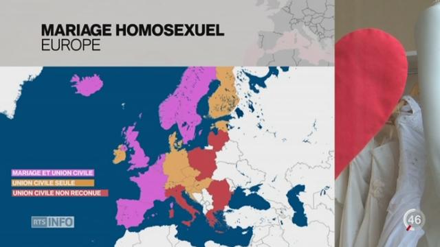 Les couples de même sexe auront bientôt droit au mariage en Suisse [RTS]