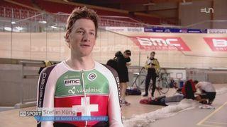 Cyclisme sur piste: découverte des pistards suisses qui se préparent pour les Jeux de Rio [RTS]