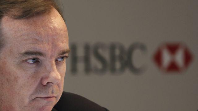 Stuart Gulliver, directeur général de HSBC. [Bobby Yip - Reuters]