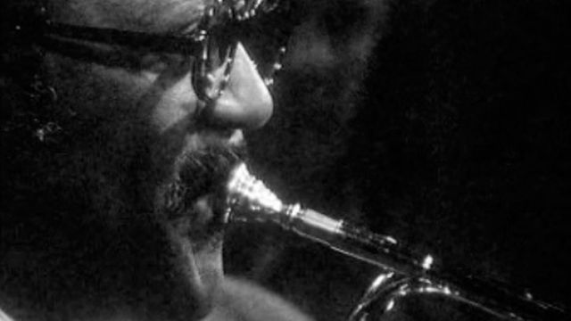 Clark Terry lors d'un workshop de trompette en 1969. [RTS]