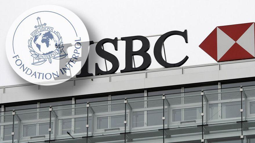 Le directeur de HSBC est lié à une fondation d'Interpol.