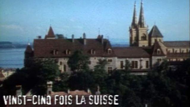 Neuchâtel, une ville au bord de l'eau, riche de son passé.