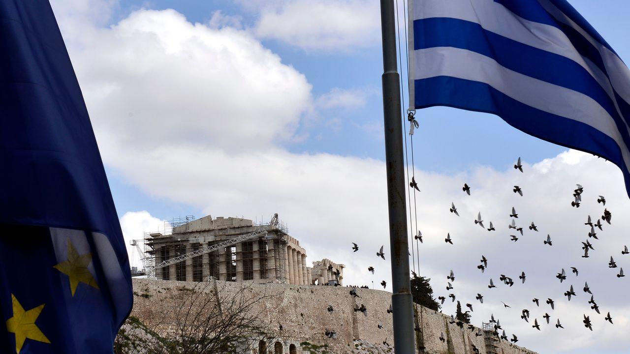 La Grèce est sous pression. [Louisa Gouliamaki - AFP]