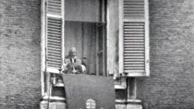 Jean XXIII s'adresse aux fidèles à l'occasion de Noël.