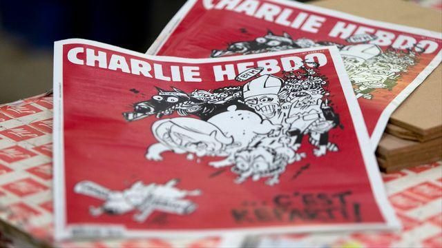 Charlie Hebdo reprend son rythme de parution normal depuis les attentats du 7 janvier. [Kenzo Tribouillard - AFP]