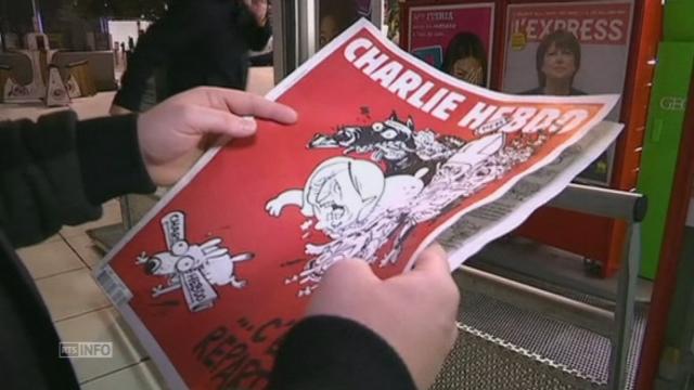 Pas de files d'attente pour le nouveau Charlie Hebdo [RTS]