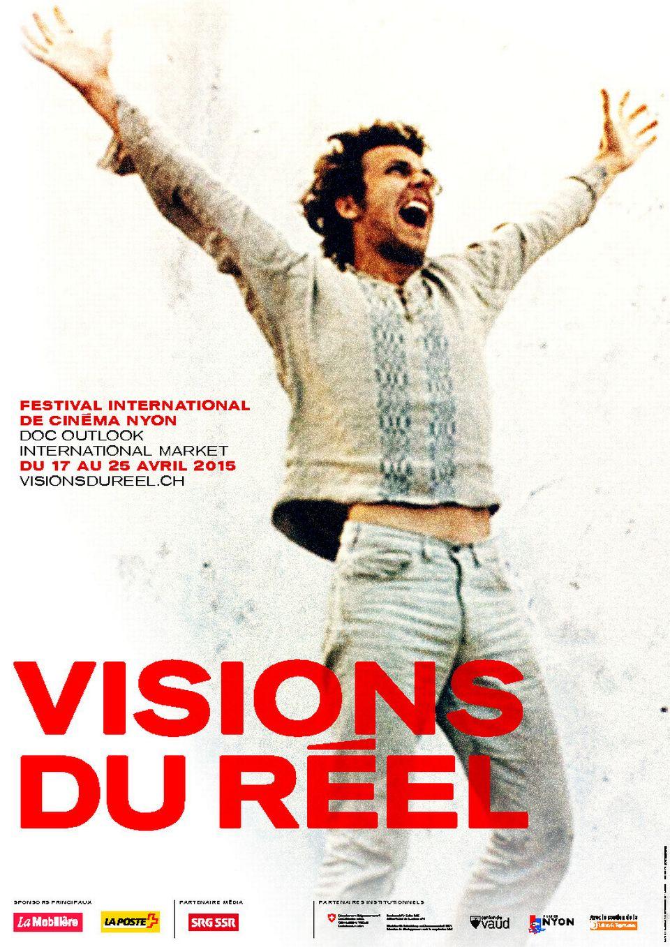 """Affiche de l'édition 2015 de """"Visions du réel"""". [visionsdureel.ch]"""