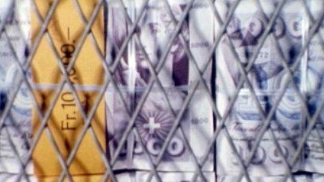 Des moyens pour défendre le franc en 1975. [RTS]