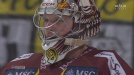 1/4, (match 1) HC Lugano - Genève Servette (2-3): Mayer colle son poing dans la figure de McLean [RTS]