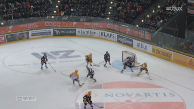 Hockey - Play off: Davos a fait un grand match face à Zoug (6-1) [RTS]