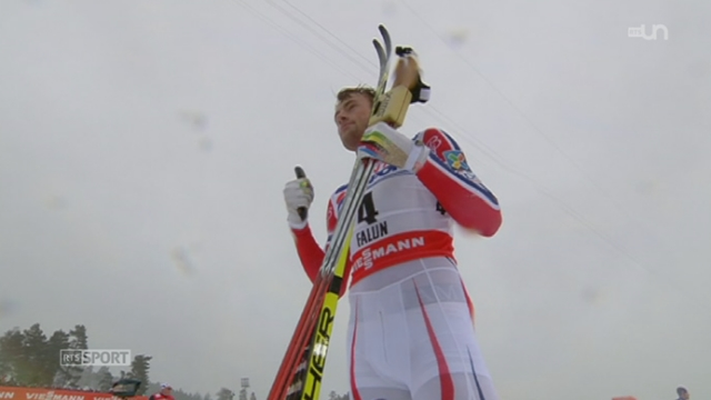 Ski de fond: Petter Northug a obtenu l'or et Dario Cologna finit en 6e place [RTS]