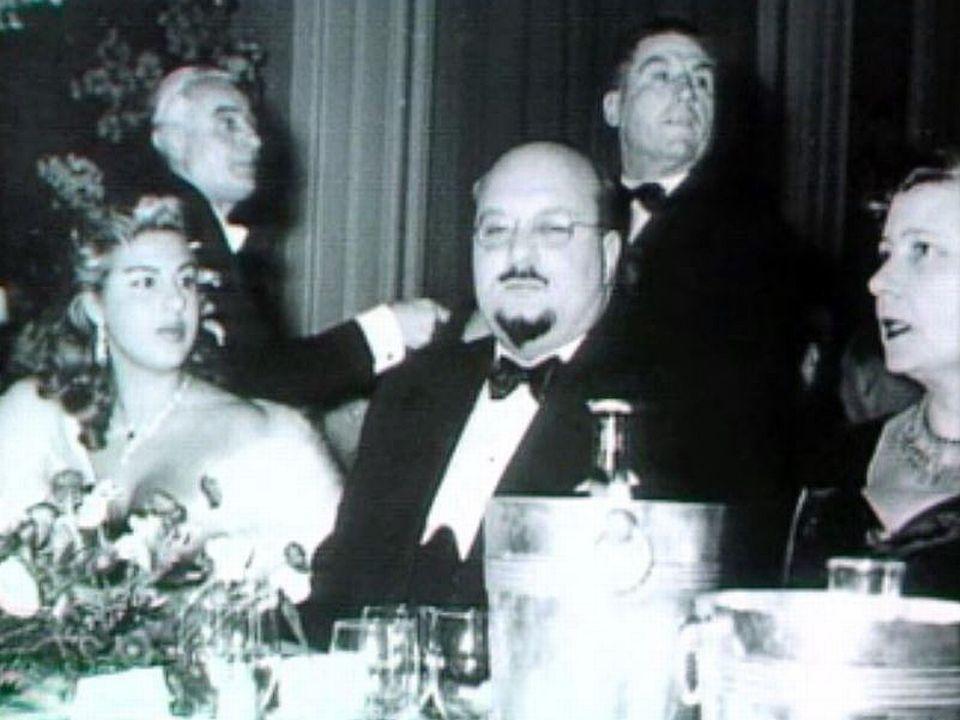 Farouk, le dernier roi d'Egypte, destitué par Nasser.