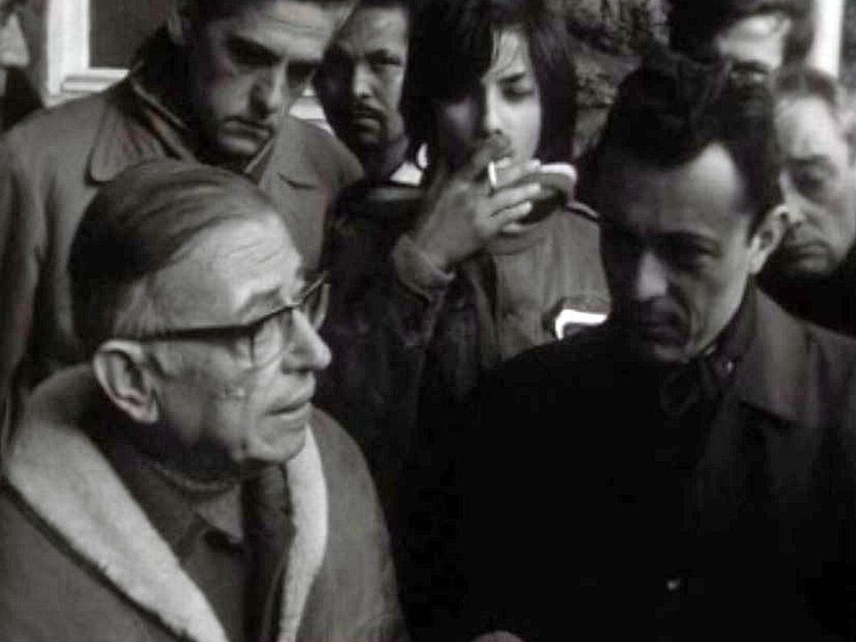 Jean-Paul Sartre dénonce les conditions de vie des immigrés.