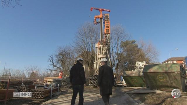 VD: la ville de Lausanne va pratiquer plusieurs centaines de forages géothermiques [RTS]