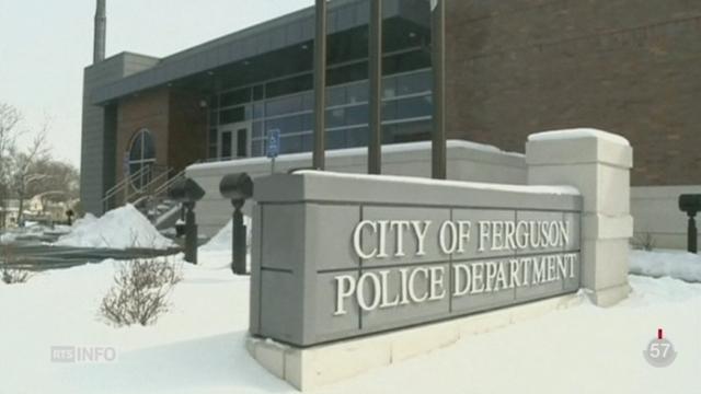 La police de Ferguson (USA) a eu des pratiques discriminatoires fondées sur l'origine ethnique [RTS]