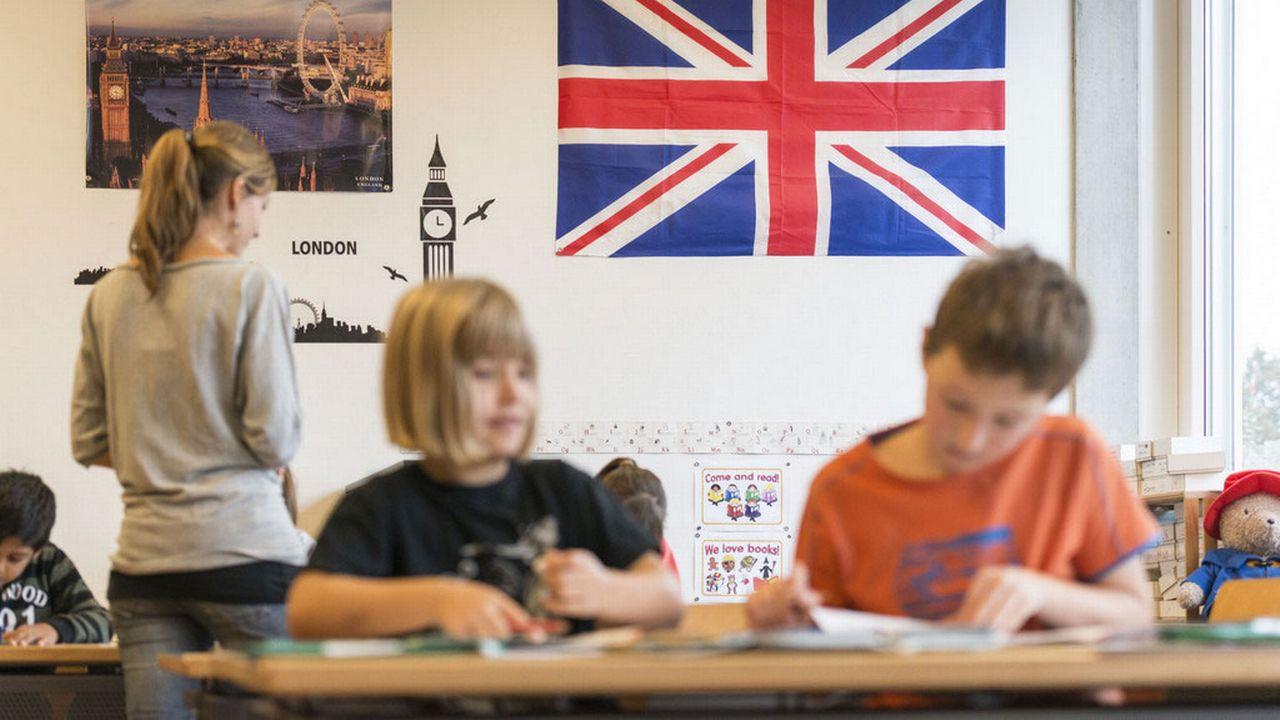 L'UDC nidwaldienne voulait clairement privilégier l'anglais au primaire. [Christian Beutler - Keystone]