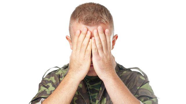 L'état de stress post traumatique affecte certains soldats au retour des combats. GVS Fotolia [GVS - Fotolia]