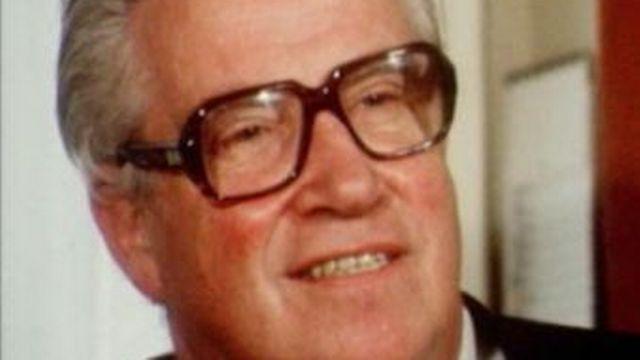 L'abbé Pierre Kaelin en 1976. [RTS]