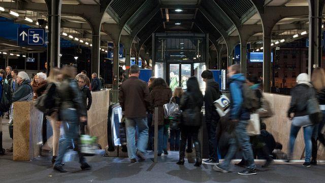 Les étrangers les plus nombreux en Suisse sont les Italiens et les Allemands. [Yannick Bailly - Keystone]