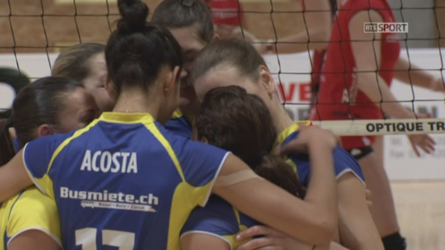 Hotel Cristal VFM - Volley Köniz (1-2): Volley Köniz arrache ce set 25-18 [RTS]