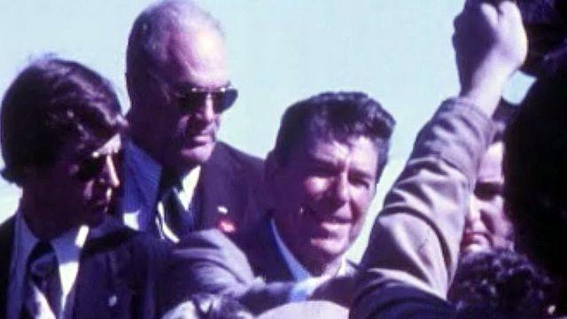 Reagan essaie de décrocher les primaires du Parti républicain.