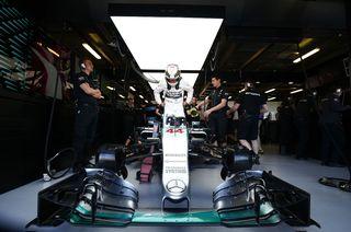 Lewis Hamilton au Grand Prix d'Australie le 13 mars 2015. [Hoch Zwei / Picture-Alliance / AFP]