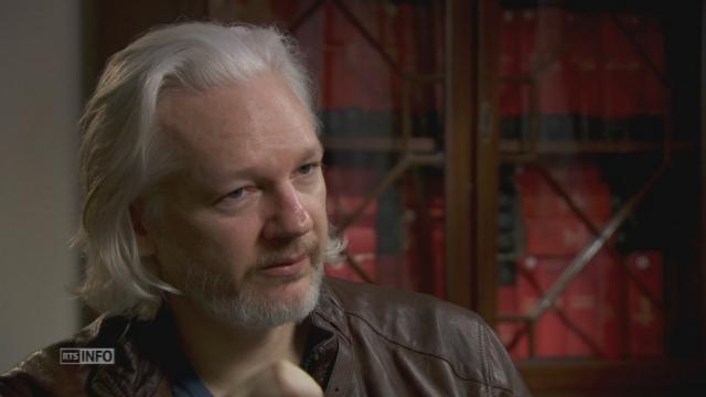 Pardonnez-moi avec Julian Assange [RTS]