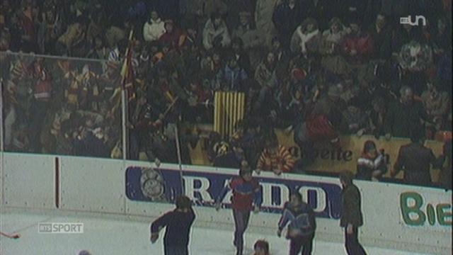 Hockey - Playoffs: la patinoire de Bienne a vu se dérouler ses derniers matchs [RTS]