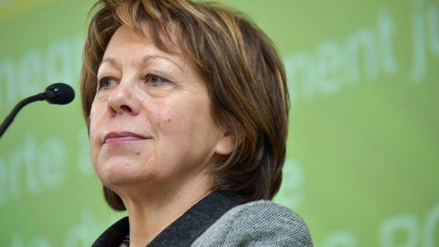 La députée verte Erica Hennequin se représentera pour un 3e mandat. [Gaël Klein - RTS]