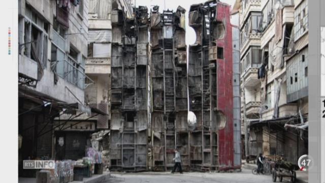 Situation dramatique en Syrie: Alep est devenue une véritable ville symbole [RTS]