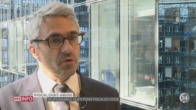 L'OCDE adresse un satisfecit à la Suisse en matière d'échange d'information fiscale [RTS]