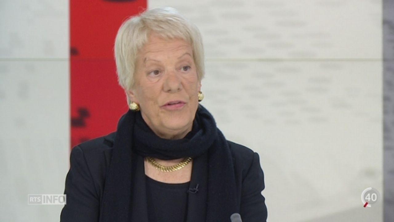 Situation dramatique en Syrie: entretien avec Carla Del Ponte, membre de la commission d'enquête ONU sur la Syrie (1-2) [RTS]