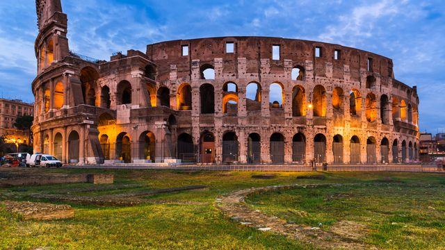 Le monument le plus emblématique de la ville de Rome antique, le colisée. [Emi Cristea - Fotolia]