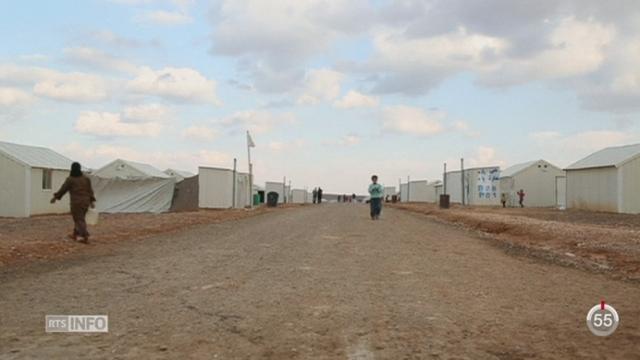 Le nombre de réfugiés syriens s'élève à quatre millions, dont un million en Jordanie [RTS]