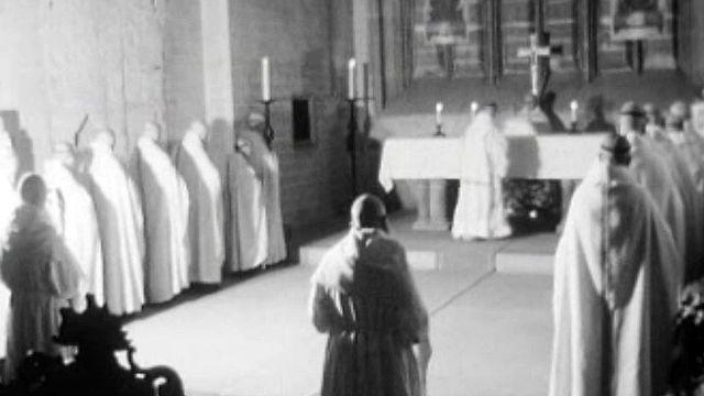 A l'abbaye cistercienne d'Hauterive, la tradition est respectée.