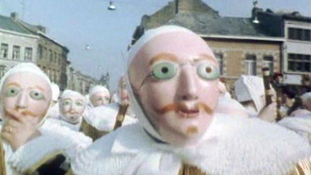 Le carnaval de Binches, avec ses Gilles, est le plus célèbre de Belgique.