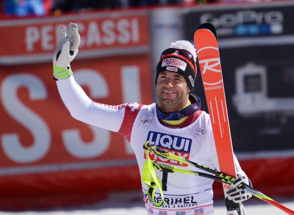 Ski une derni re descente en apoth ose pour d fago rts for Didier defago