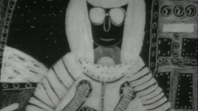Interview d'un écolier sur les fusées et les voyages dans la lune en 1970. [RTS]