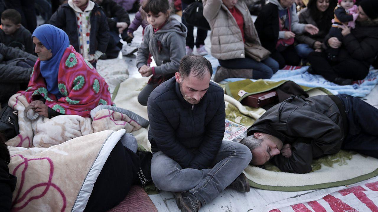 La Suisse va accueillir 3000 réfugiés syriens ces trois prochaines années. [Petros Giannakouris - AP/Keystone]
